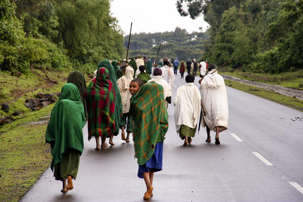 5. Ethiopie - Op weg naar de markt