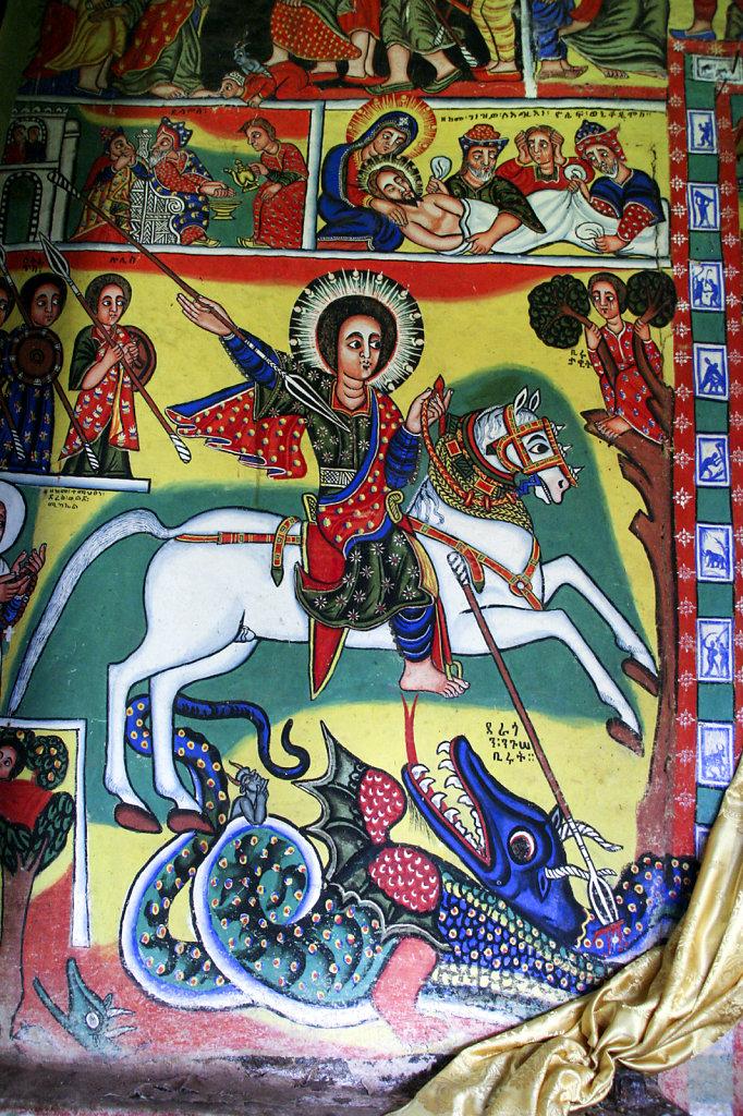 8. Ethiopie - Meer van Tana. Kerk