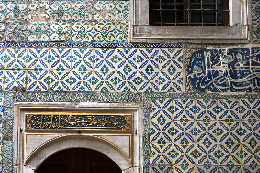 9. Istanbul - Topkapi paleis