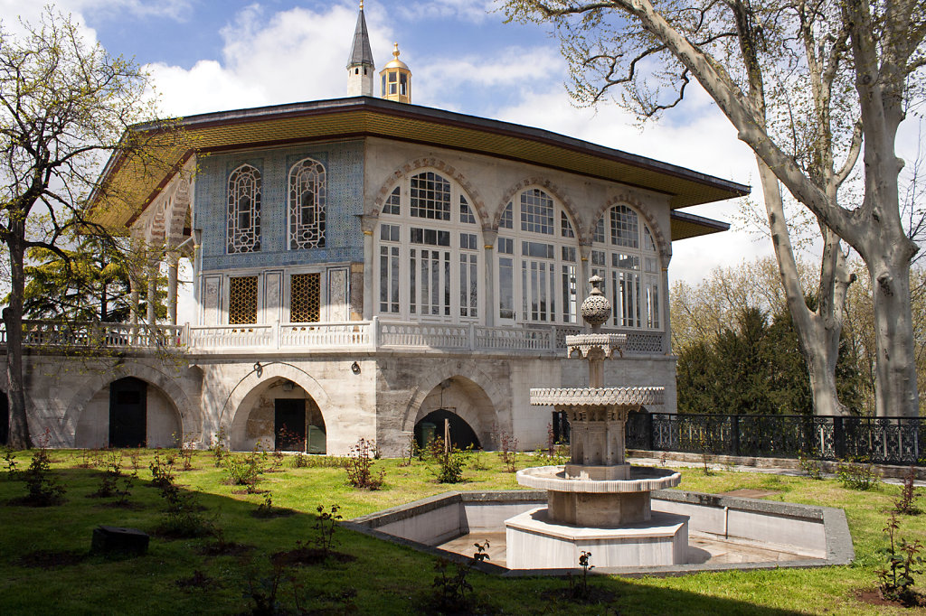 10. Istanbul- Topkapi paleis
