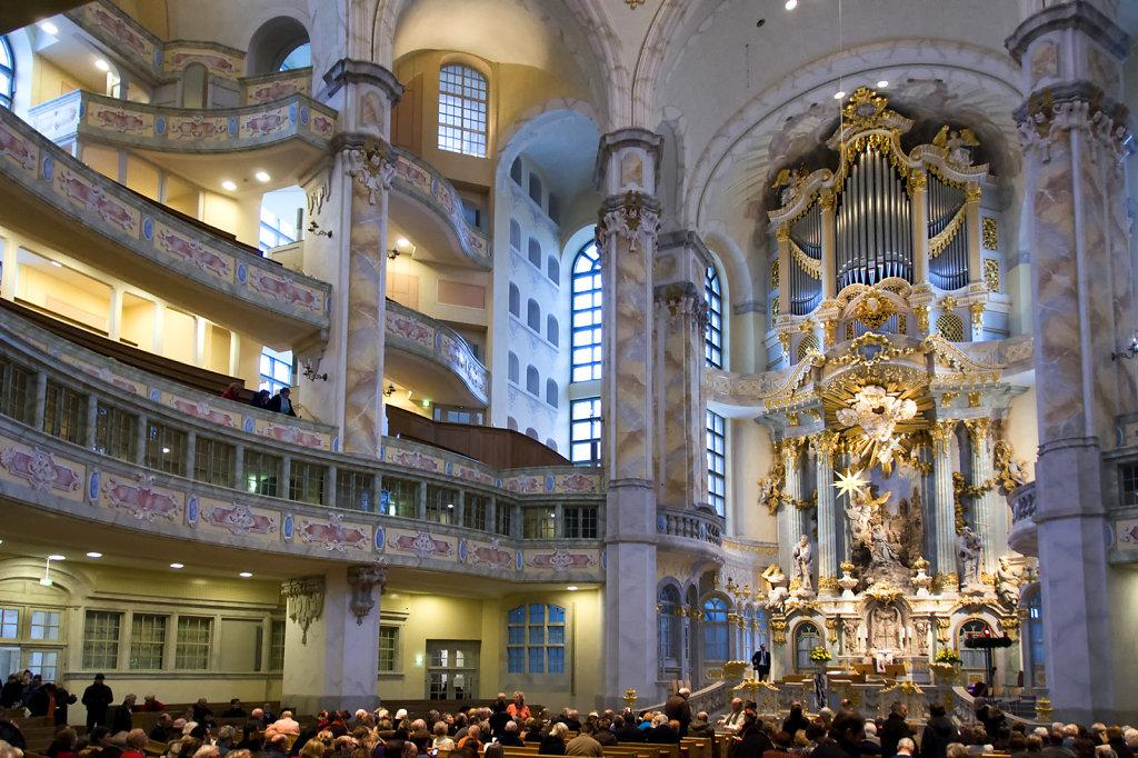 3. Dresden - Interieur Frauenkirche